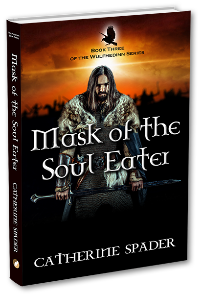 mask of the soul eater catherine spader book cover 3d-600